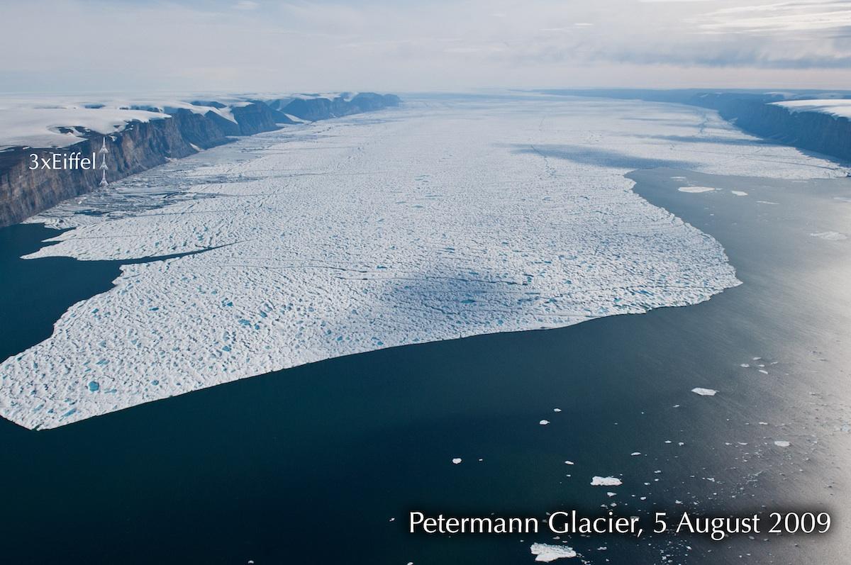Ο «τραυματισμένος» παγετώνας της Γροιλανδίας
