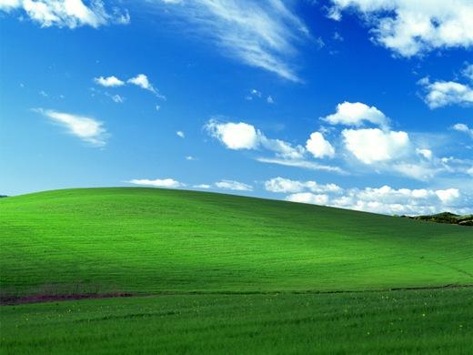 Η ιστορία πίσω από το τοπίο των windows xp