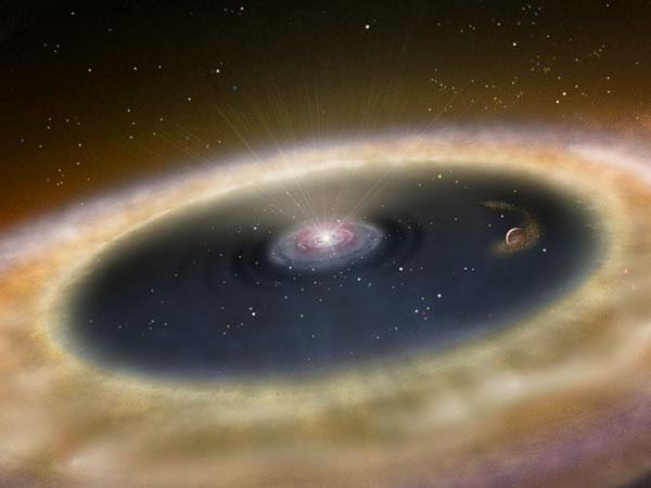 perierga.gr - Ένας νέος πλανήτης γεννιέται