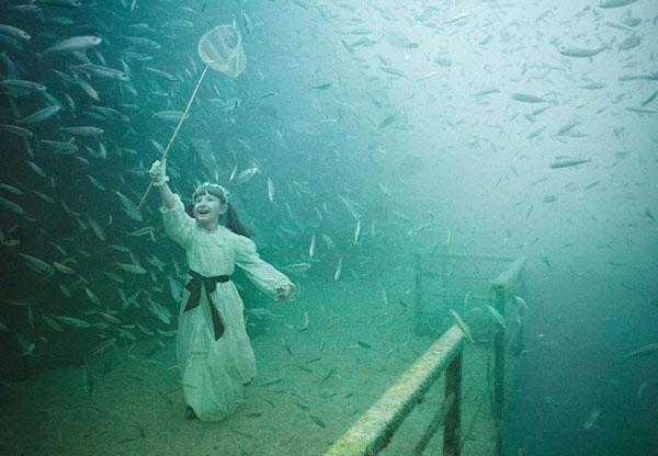 Έκθεση φωτογραφίας στο βυθό της θάλασσας!