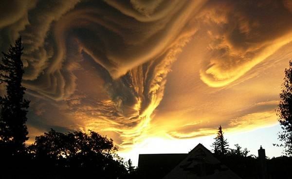 Perierga.gr - Τα πιο περίεργα σύννεφα!