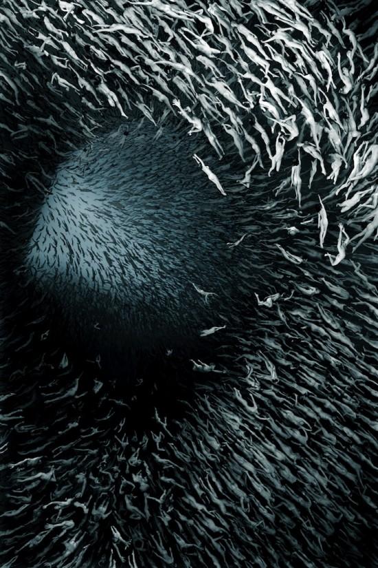 200.000 γυμνά σώματα σε ένα... ανθρώπινο μωσαϊκό!