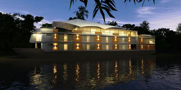 "perierga.gr - Ένα πολυτελές ξενοδοχείο ""επιπλέει"" στο ποτάμι!"