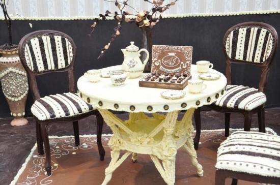 diaforetiko.gr : chocolateroom3 ΕΚΠΛΗΚΤΙΚΟ! ΔΕΙΤΕ το δωμάτιο που είναι φτιαγμένο από σοκολάτα...