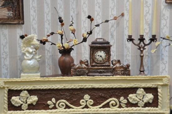 diaforetiko.gr : chocolateroom4 ΕΚΠΛΗΚΤΙΚΟ! ΔΕΙΤΕ το δωμάτιο που είναι φτιαγμένο από σοκολάτα...