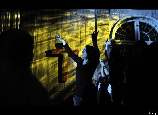 perierga.gr - Η εκκλησία μετατράπηκε σε... ντίσκο!
