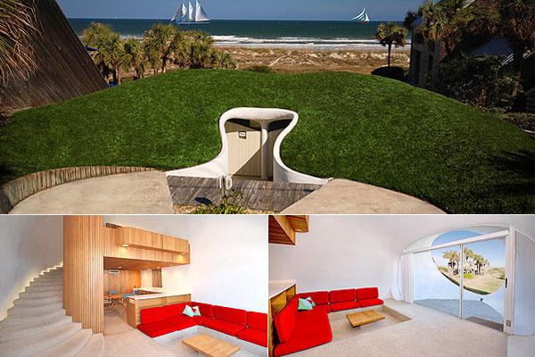 perierga.gr - Μια απίθανη κατοικία μέσα σε έναν... αμμόλοφο!