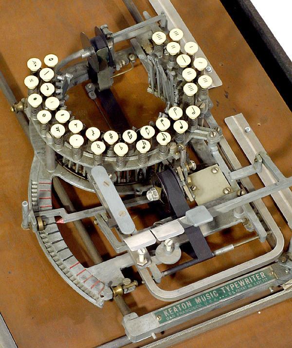 «Μουσική» γραφομηχανή