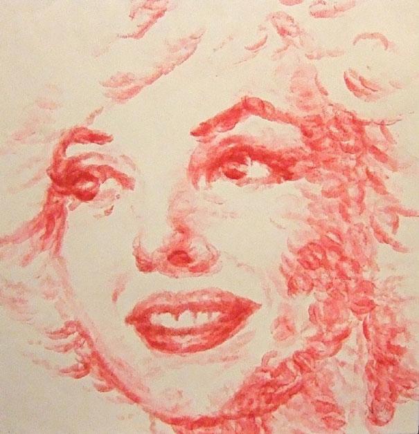 periera.gr - Ζωγραφίζοντας με τα... χείλια!