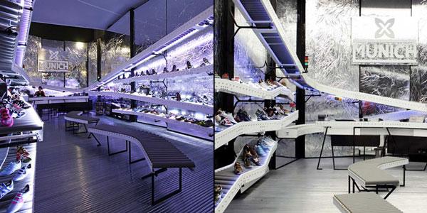 perierga.gr - New concept: Κατάστημα υποδημάτων σαν... αεροδρόμιο!