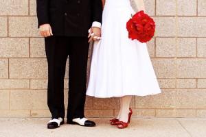perierga.gr - Ένας γάμος σε... τεντωμένο σκοινί!