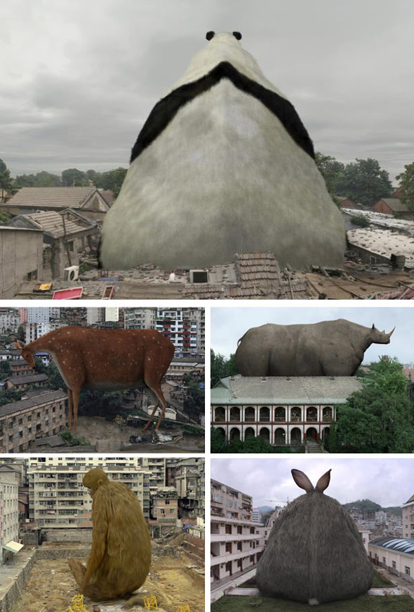 perierga.gr - τα ζώα κάνουν... επιδρομή στην πόλη!