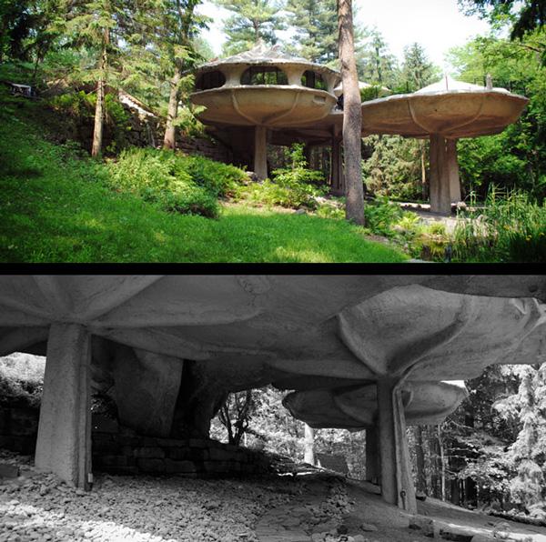 "perierga.gr - Ζώντας σε ένα ""μανιταρόσπιτο"" στο δάσος!"