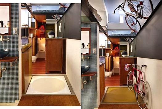 perierga.gr - Άνεση μέσα σε ένα σπίτι 16 τετραγωνικών!