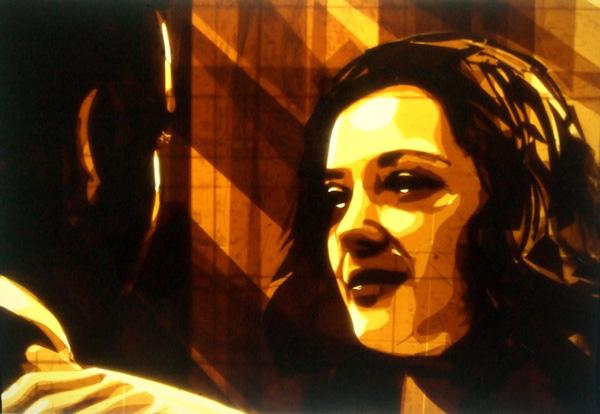 perierga.gr - Πορτρέτα φτιαγμένα από αυτοκόλλητη ταινία συσκευασίας!