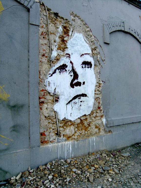 perierga.gr - Ξύνοντας... πορτρέτα στους τοίχους!