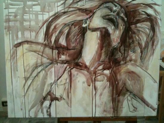 perierga.gr - Ζωγραφίζοντας με... κρασί!
