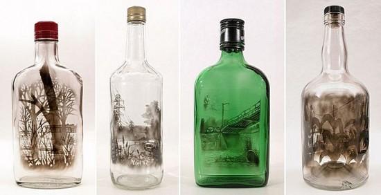 perierga.gr - Μπουκάλια... μπαρουτοκαπνισμένα!