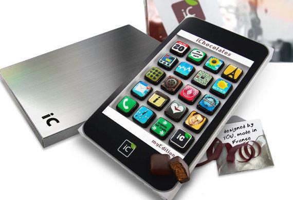 perierga.gr - Ουπς! Σοκολατάκια στο i-Phone μου!