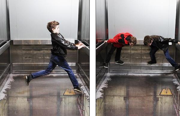 perierga.gr - Το ασανσέρ του τρόμου!