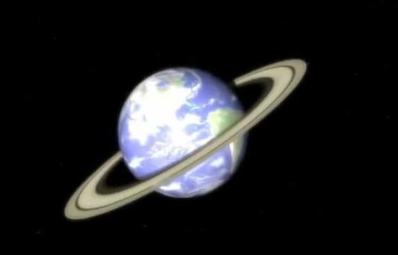 Perierga.gr - Πώς θα ήταν η Γη αν είχε δακτύλιους;