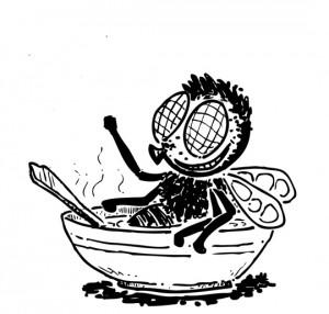 perierga.gr - Αν έπεφτε ένα έντομο στον καφέ σας τι θα κάνατε;
