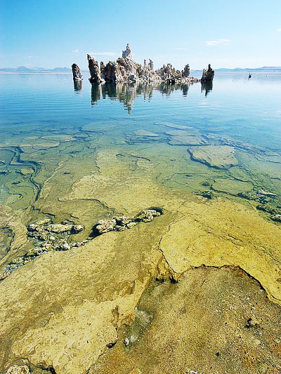 Mono Lake λίμνη: Η