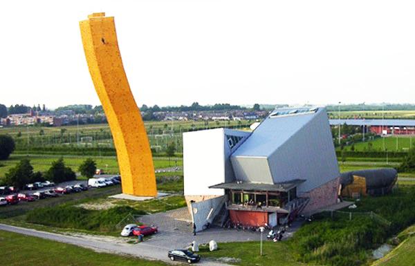 Ο ψηλότερος τοίχος αναρρίχησης στον κόσμο!