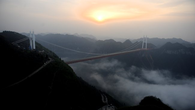 Perierga.gr - Η πιο ψηλή γέφυρα του κόσμου