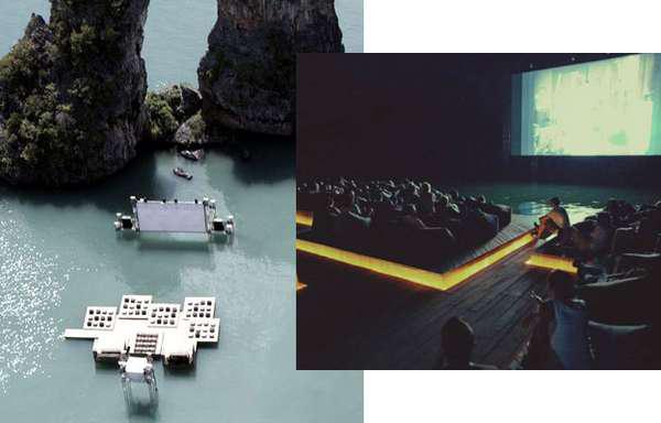 perierga.gr - Ο πρώτος πλωτός κινηματογράφος είναι γεγονός!