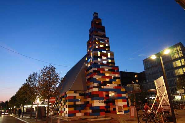Μια εκκλησία εξ ολοκλήρου από... Lego!