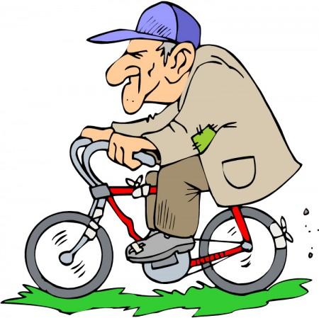 Perierga.gr - Ποδηλάτης βάζει τα γυαλιά σε περιπολικό