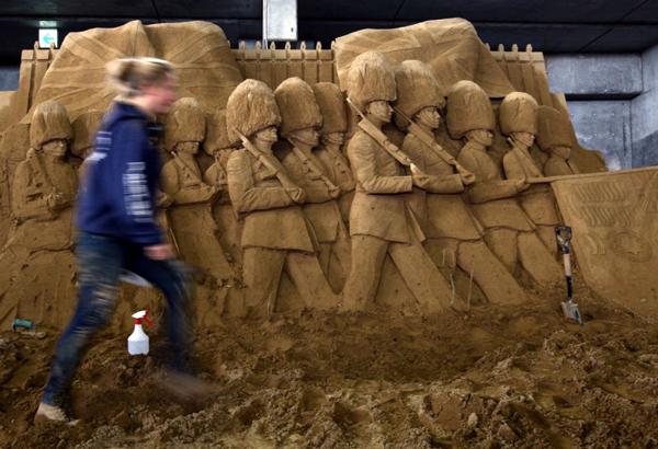 """Το """"Μουσείο Άμμου"""" γιορτάζει τους Ολυμπιακούς 2012!"""