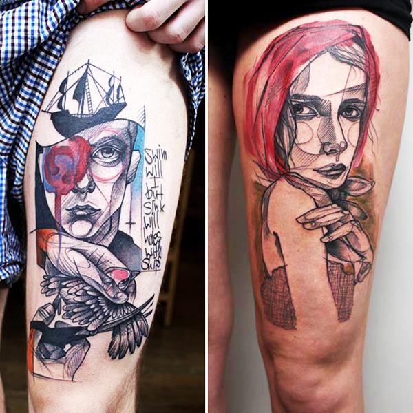 perierga.gr - Εντυπωσιακά τατουάζ σε μεγάλο μέγεθος!