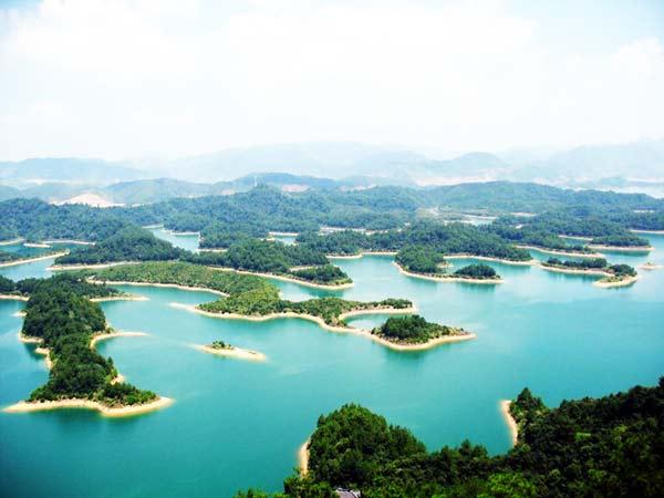 perierga.gr - Qiandao Lake: Μια λίμνη με 1.000 νησιά!