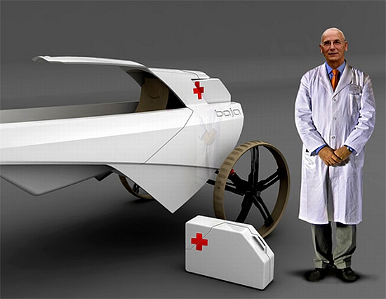 "perierga.gr - Το καινοτόμο ""ασθενοφόρο της ερήμου""!"