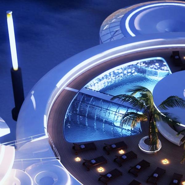 Water Discus Hotel: Διαμονή στο βυθό!