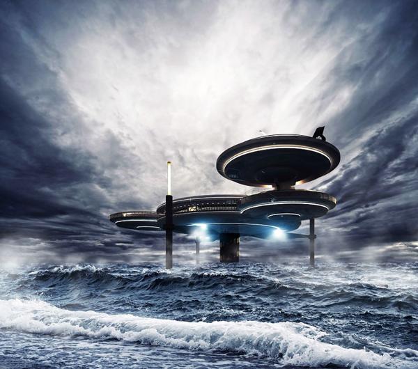perierga.gr - Water Discus Hotel: Διαμονή στο βυθό!