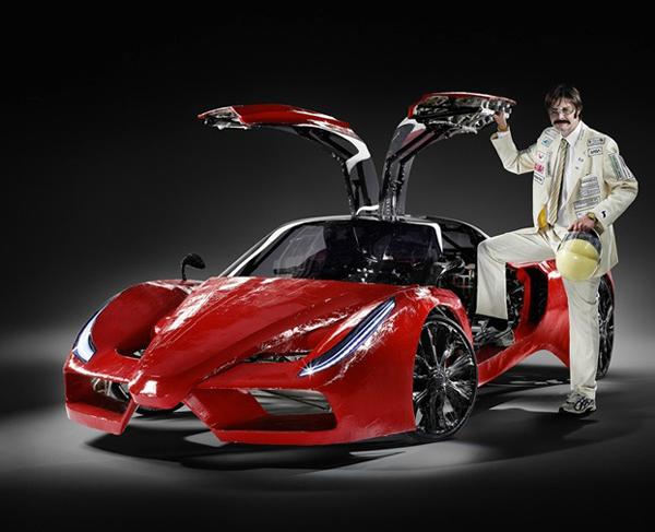 perierga.gr - Fehrradi FFX: Νέα έκδοση της Ferrari με... πετάλια!