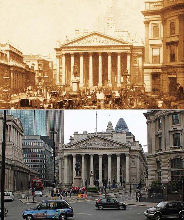 perierga.gr - Λονδίνο: Διαφορές & ομοιότητες από το 1897 στο σήμερα...