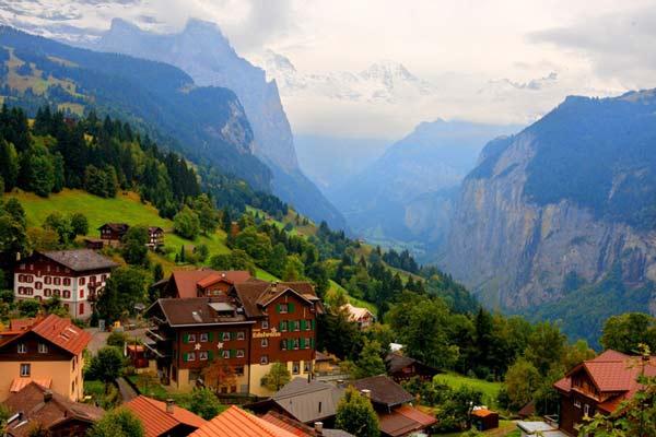 perierga.gr - Perierga.gr - Wengen, ένα χωριό συγκλονιστικής φυσικής ομορφιάς!