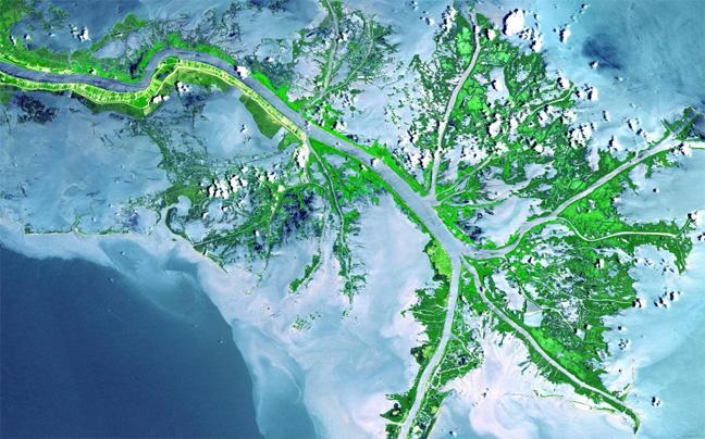 Perierga.gr - Τα ποτάμια όπως φαίνονται από το διάστημα