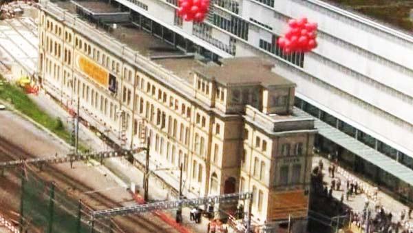 """perierga.gr - Κτίριο """"μετακομίζει"""" από την αρχική θέση του!"""