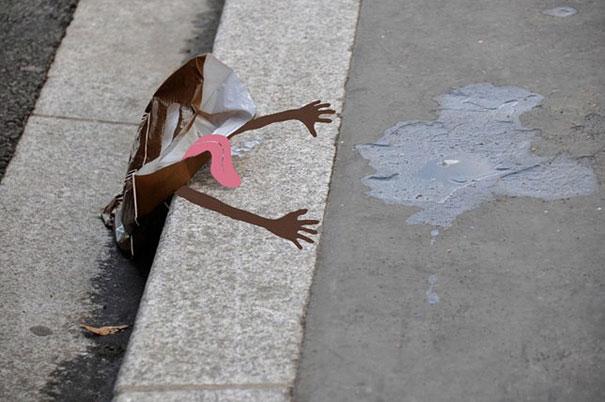 perierga.gr - Δημιουργική τέχνη του δρόμου στα καλύτερά της!
