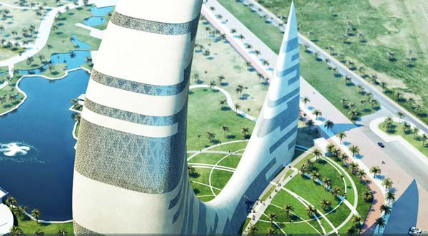 perierga.gr - Ένας ουρανοξύστης σε σχήμα ημισελήνου!