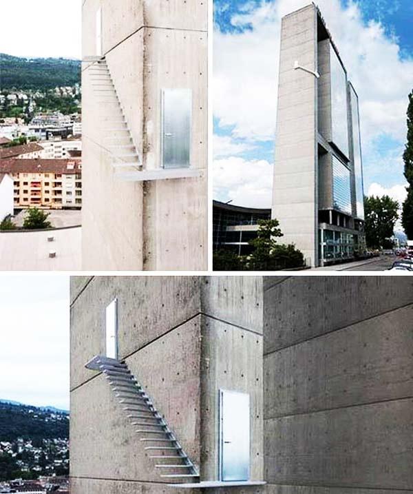 perierga.gr - Για δωμάτιο με θέα, αντέχετε να ανεβείτε τη σκάλα;
