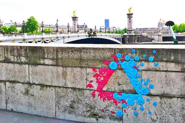 perierga.gr - Διαφορετική τέχνη του δρόμου με... οριγκάμι!