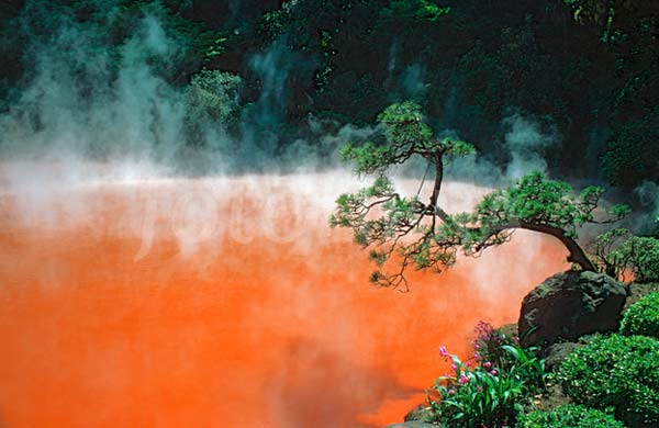 "perierga.gr - Η κόκκινη ""λίμνη της Κολάσεως""!"