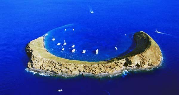 perierga.gr - Molokini: Ένας δημοφιλής προορισμός για δύτες!
