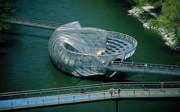 Mur Island: Ένα τεχνητό νησί... έργο τέχνης!